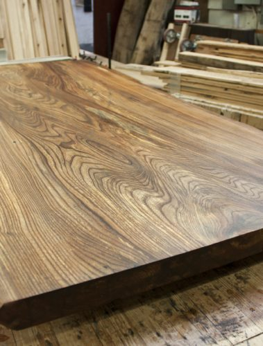 Marian's Chinese Elm Table